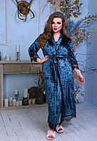 Комплект жіночий халат і ночнушка