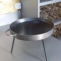 Сковорода из диска бороны 40см для жарки