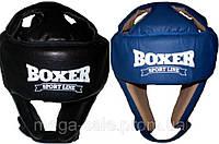 Шлем каратэ кожа  Boxer Sport Line, размер L (шлем для единоборств)