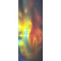 Фольга трансфертна пакет 32 Срібло голографика 50см ТМ Березень