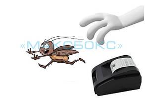 Чистка от насекомых и жидкостей принтера чеков