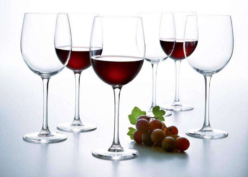 Келихи для червоного вина Luminarc Versailles 580мл 6шт N1011