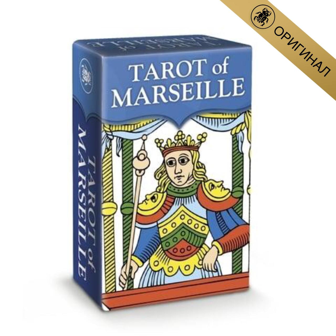 Карты Таро «Марсельское Таро» (мини) Tarot of Marseille (Италия)