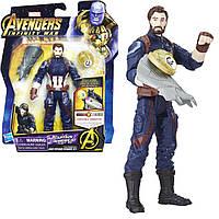 Фігурка Капітан Америка, Месники Марвел, Marvel Avengers: Infinity War Captain America. Hasbro E1407 Оригінал