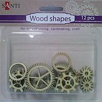 Набор форм деревянных 952591 Механизмы
