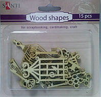Набор форм деревянных 952592 Ключи-клетки