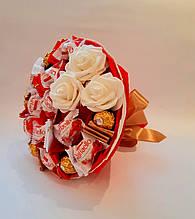 Букет из  конфет  Raffaello Ferrero Rocher Торжественный 2 вкусный сладкий подарок Okl