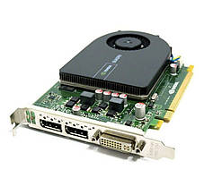 Видеокарта Nvidia GeForce, Quadro 2000, 128 бит, 1 гб