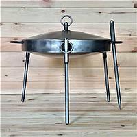 Сковорода из диска бороны 40см (с крышкой) для жарки