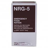 Екстрений харчовий раціон харчування MSI NRG-5, 500 г (9 брикетів)