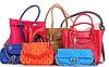 Выбор цвета женской сумки