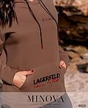 Худі жіночий великих розмірів, фото 4