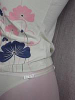 Маечка на брительках женская 6103 стрейч С+3 Польша, фото 1