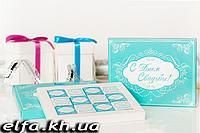 """Шоколадный набор """"С днём свадьбы"""" (12 шоколадок)"""