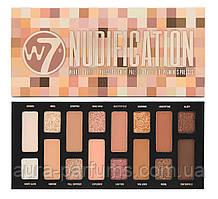 Палитра теней для век W7 Nudification Pressed Pigment Eyeshadow Palette