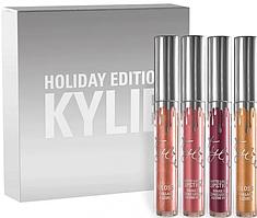 Жидкая матовая помада Kylie Holiday Edition (4 color)