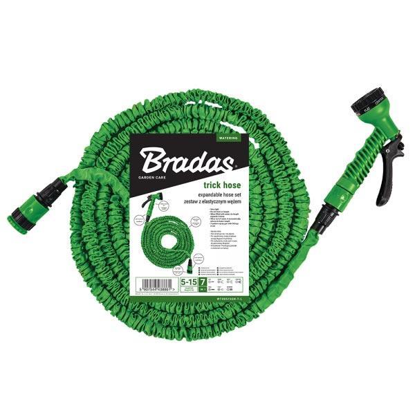 Розтягується шланг, набір TRICK HOSE, 5-15 м (зелений), пакет, WTH0515GR-T-L