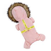 Комбинезон с капюшоном для собак Hoopet HY-Y2256 Розовый M (6394-20688)