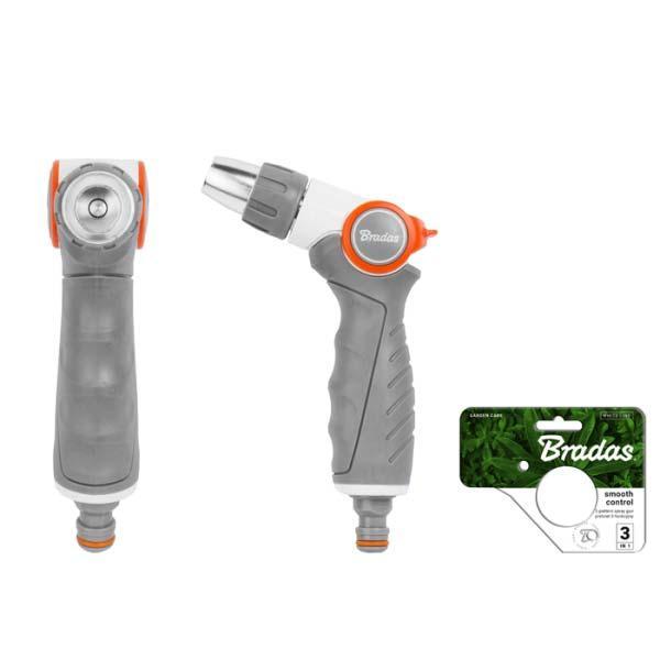Металевий поливальний пістолет, регульований, WHITE LINE, WL-EN40M