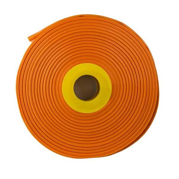 """Шланг плоский AGRO-FLAT PE W. P. 4, ORANGE 1"""",100 м,"""