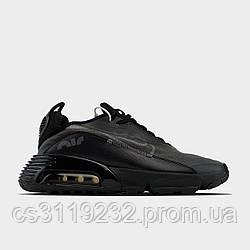 Чоловічі кросівки Nike Air Max 20/90 Black Red (чорні)