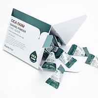 Скраб для лица с содой и центеллой азиатской Farm Stay Cica Farm Baking Powder Pore Scrub, 7г
