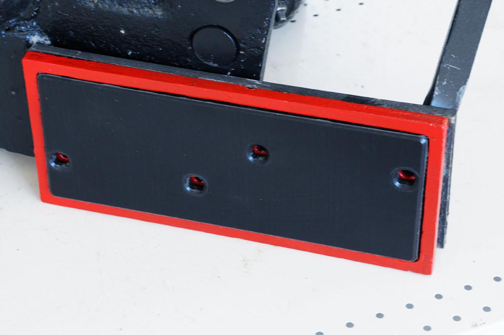 Полевая доска к плугу ПЛН 3-35 (5-35) со вставкой из композитного материала Tekrone