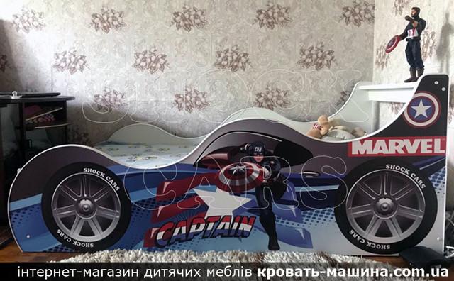 Кровать машина Тачки Shock Cars купить киев украина
