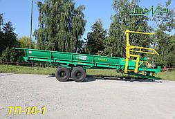 Погрузчик-транспортировщик рулонов сена ТП-10-1 (7 т) Бобруйскагромаш (Белоруссия )