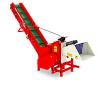 Подрібнювач гілок Arpal АМ-120ТР-ДО PRO з транспортером під ВОМ трактора (діаметр гілок 120 мм)