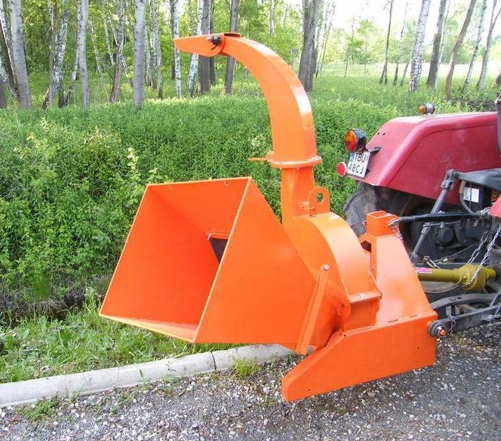 Подрібнювач гілок Cyklon, щепорез для трактора (до 130 мм)