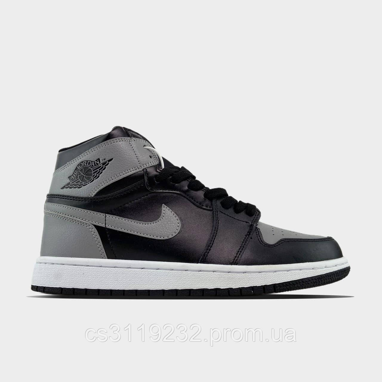 Чоловічі кросівки Nike Air JORDAN 1 RETRO HIGH DIOR (біло-сірі)