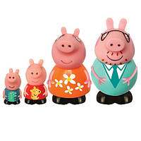 Набір іграшок брызгунчиков Peppa Сім'я Пеппы 4 фігурки