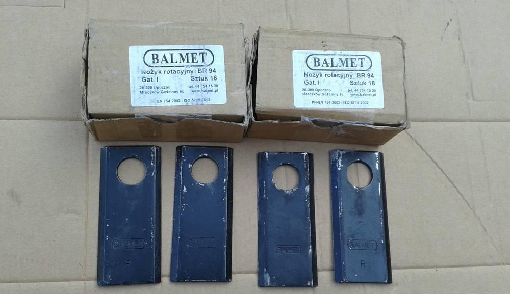 Ніж роторної косарки Balmet Польща (упаковка)