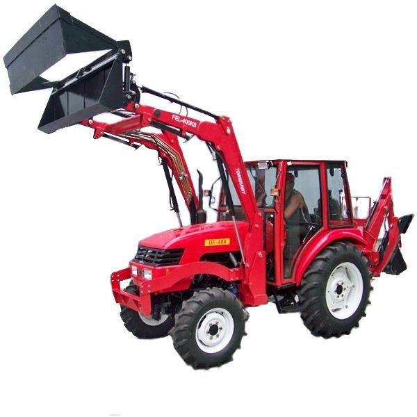 """Фронтальний навантажувач АМС-300 """"Агромет"""" для МТЗ-320 і китайських тракторів"""