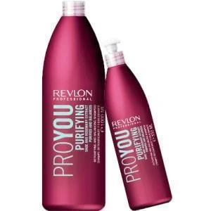 Очищающий шампунь для волос - Revlon Professional Pro You Purifying Shampoo 1000 мл