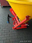 Розкидач солі та піску 400 л Jar-Met (пластик, диск метал, 4 лопаті) Польща