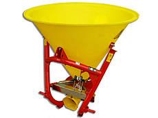 Розкидач солі та піску 500 л Jar-Met (пластик, 4 лопаті, метал) Польща