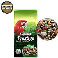 Полнорационный корм для крупных попугаев Versele-Laga Prestige Premium Loro Parque Ara Parrot Mix(15 кг.)
