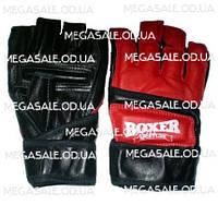 Перчатки для карате (накладки) Boxer, кожа: размеры M, L, XL