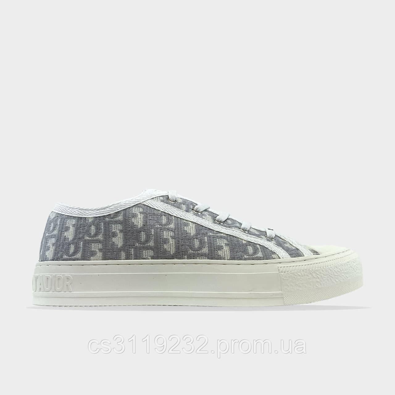 Жіночі кросівки Dior B23 Low-Top Sneakers White (білий)