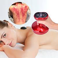 Вакуумный массажер антицелюлитный с инфракрасным подогревом для тела. Баночный массажер для тела.
