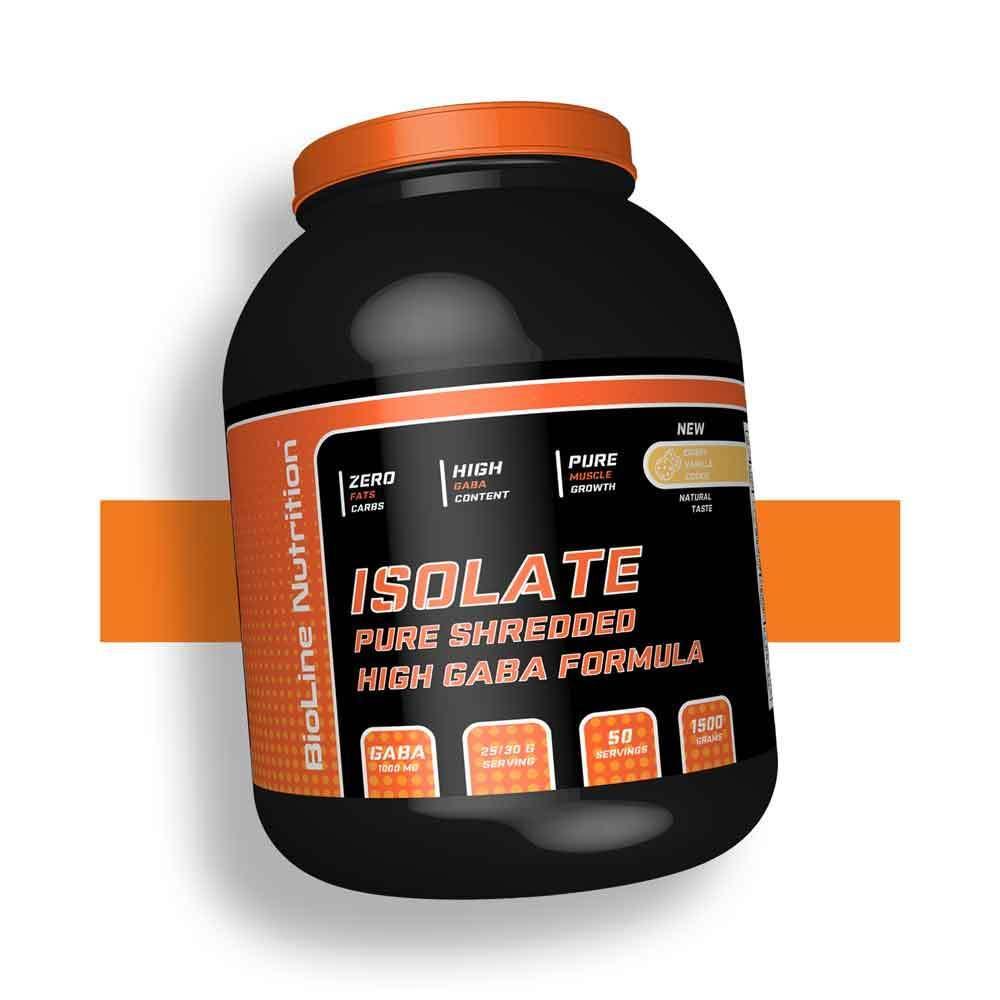 Ізолят протеїну натуральний для набору маси 85% білка BioLine Nutrition Німеччина   1.5 кг   50 порцій