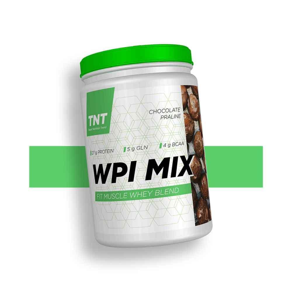 Ізолят білка бцаа амінокислоти для набору маси 90% білка WPI Mix TNT Польща | 0.9 кг | 30 порцій