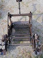 Картоплекопачка транспортерна Ярило PRO до мотоблоку (привід від коліс, зчіпка в комплекті), фото 3