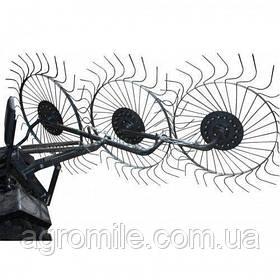 "Граблі механічні ""Сонечко"" на 3 колеса ""Преміум"" (1.8 м)"