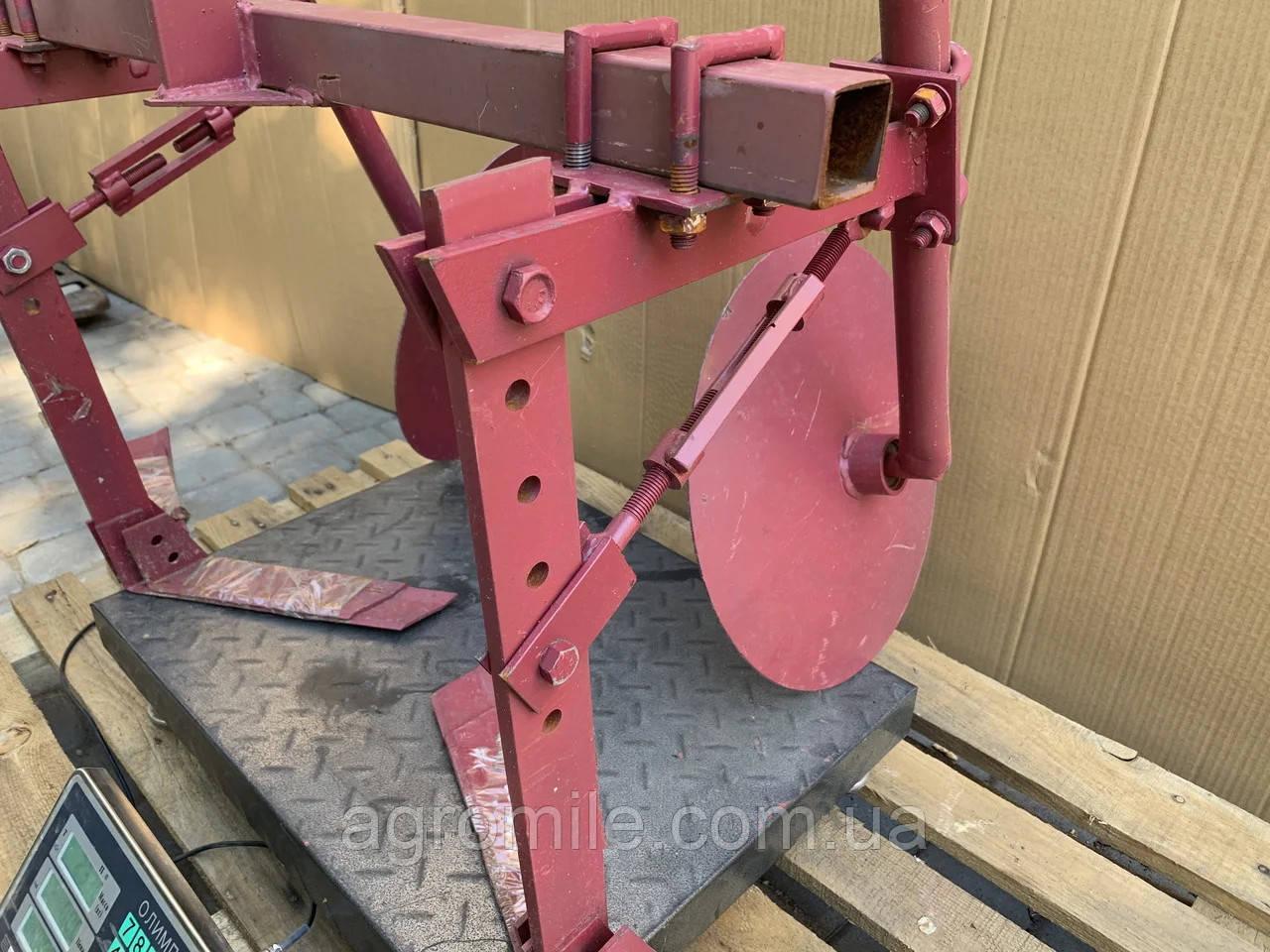 Дисковый окучник Булат  с пропольником ф-370 (пропольник 350/470 мм)