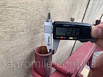Дисковый окучник Булат Ф-420 (двойная сцепка 800 мм,круглые стойки), фото 4