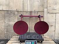 Дисковый окучник Булат Ф-420 (двойная сцепка 800 мм,круглые стойки), фото 5