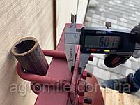 Дисковый окучник Булат Ф-420 (двойная сцепка 800 мм,круглые стойки), фото 7